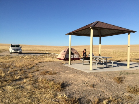 camping on Antelope Island in the middle of the Great Salt Lake. easily my favorite part of the trip