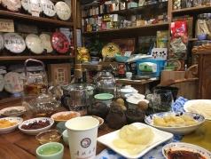 Having tea in Old Shanghai