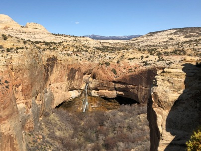 Top of Lower Calf Creek Falls Trail